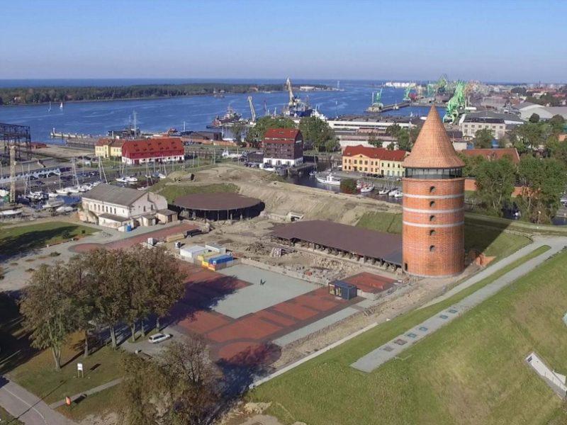 Dilema Klaipėdoje: kas reziduos atkurtame pilies bokšte?