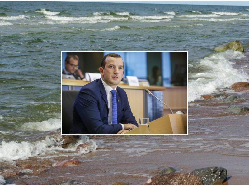 V. Sinkevičius: Baltijos jūros bėdos – netvari žvejyba, šiukšlės ir eutrofikacija