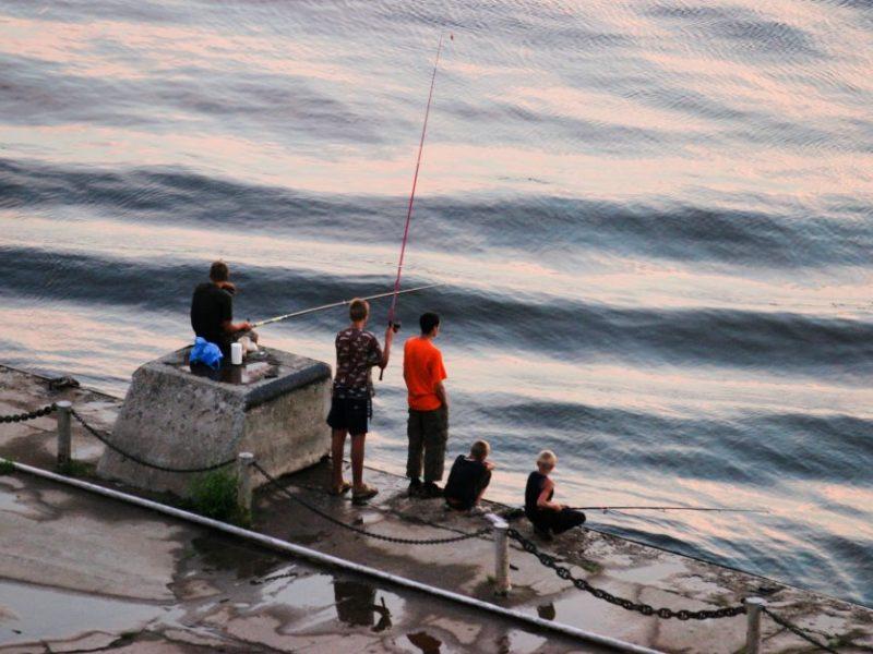 Seime siūlymai uždrausti verslinę žvejybą Kuršių mariose