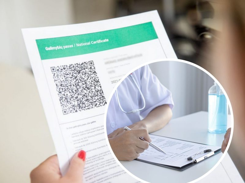 Pakruojo klinikoje – tyrimų klastojimo atvejis: darbuotoja siekė, kad žmonės gautų galimybių pasus