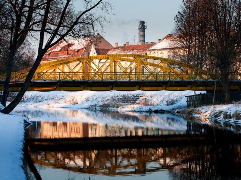 Šiemet bus rekonstruojamas tiltas per Alką
