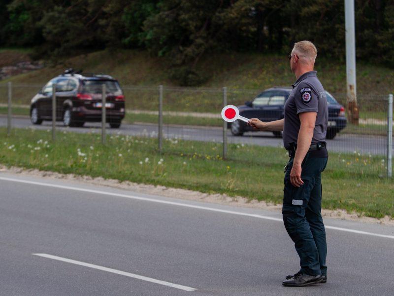 Per savaitę sostinės kelių policijai įkliuvo 25 neblaivūs vairuotojai