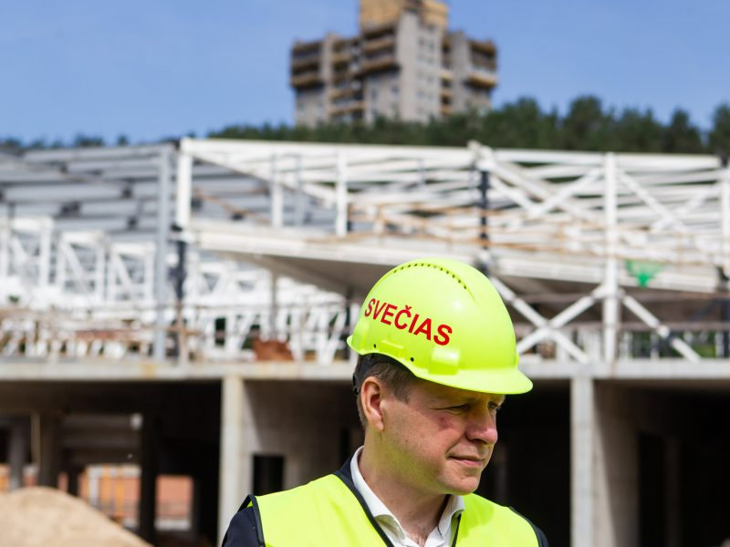 Vilniaus valdžiai – priekaištai dėl Lazdynų baseino