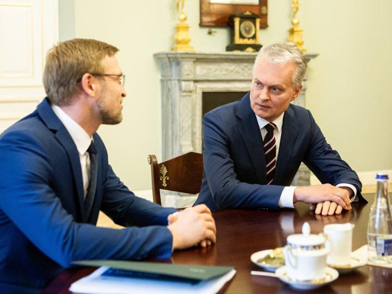 L. Kukuraitis atsakė į kritiką: atsakomybę turi prisiimti ir G. Nausėda