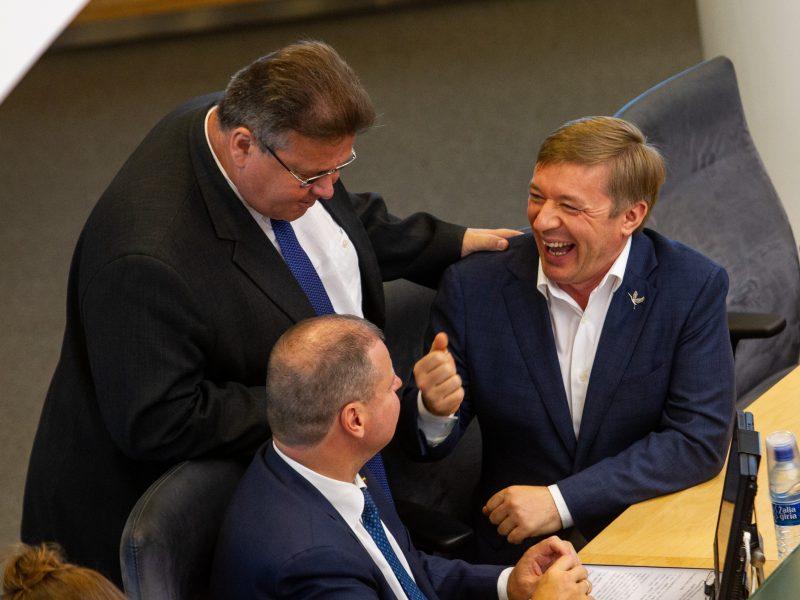 Seimas susirinko į neeilinę sesiją
