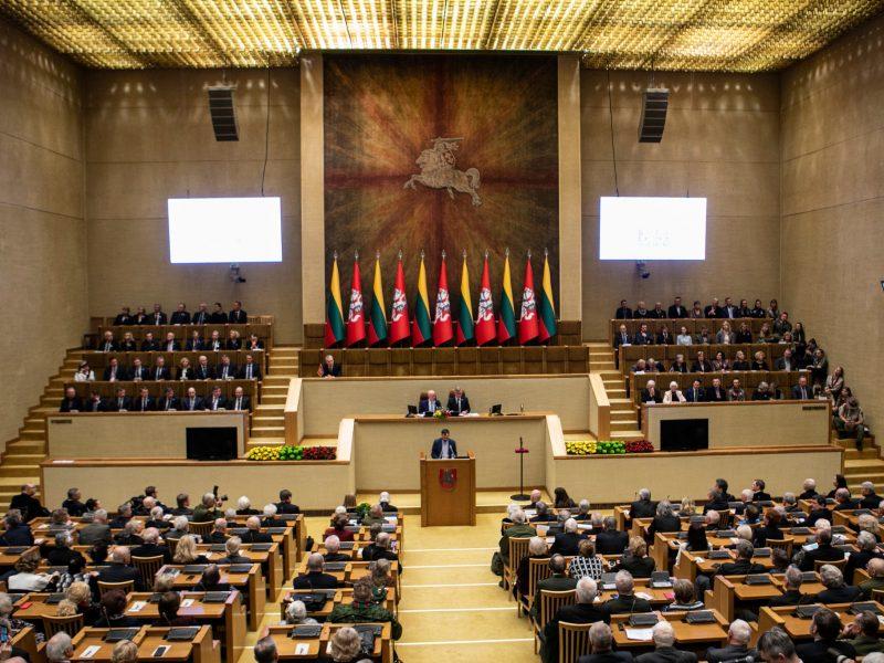 Laisvės gynėjų dienos minėjimas Seime keliasi į virtualią erdvę