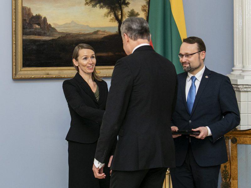 Aktorei V. Kuodytei įteikta Nacionalinė premija