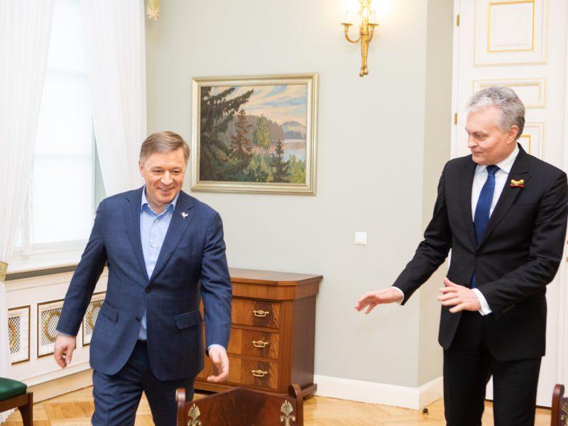 G. Nausėda sureagavo į R. Karbauskio kritiką: tai nėra nepagarba Seimui