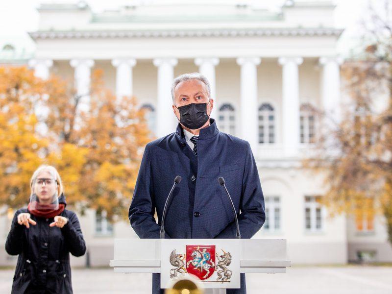 Prezidento komentarai po Seimo rinkimų