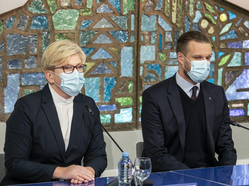 Partijų spaudos konferencijos po Seimo rinkimų