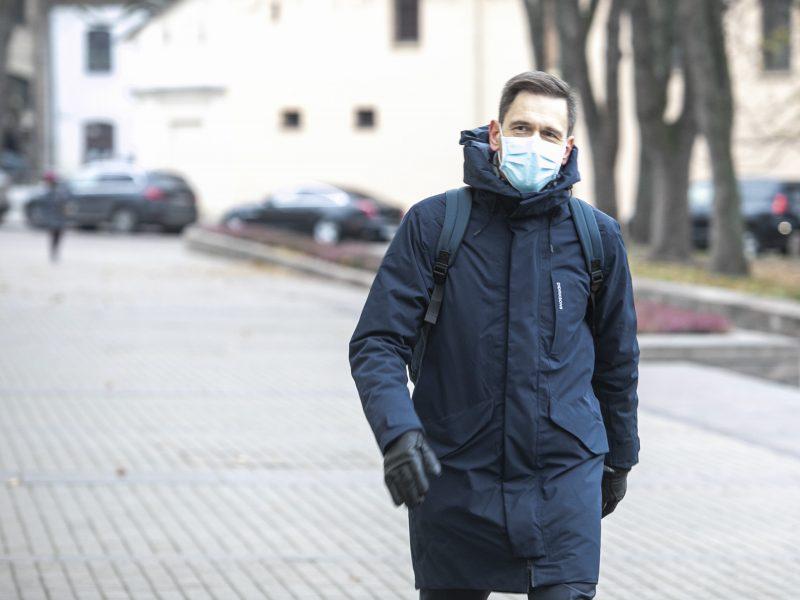 G. Nausėda susitinka su kandidatu į ministrus D. Kreiviu