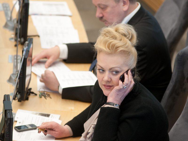 Seimas linkęs pradėti tyrimą dėl I. Rozovos ryšių su rusų diplomatais