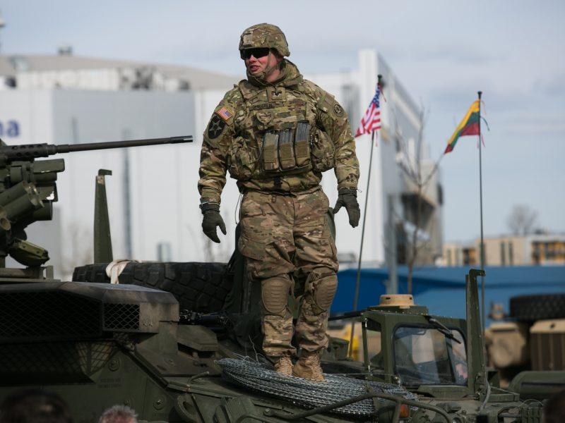 Ambasadorius: JAV kariai labai patenkinti patirtimi Lietuvoje