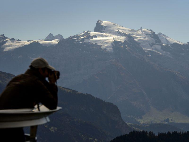 Šveicarijos Alpėse lėktuvas rėžėsi į ledyno viršūnę, žuvo keturi žmonės