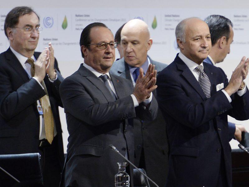 Prancūzija pateikė istorinį klimato gelbėjimo paktą