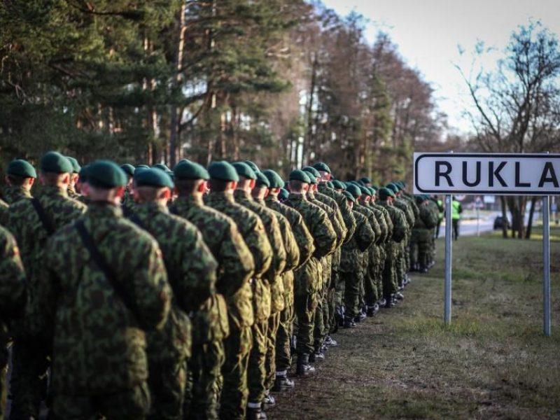 Lietuvoje – naujas šaukimas į kariuomenę