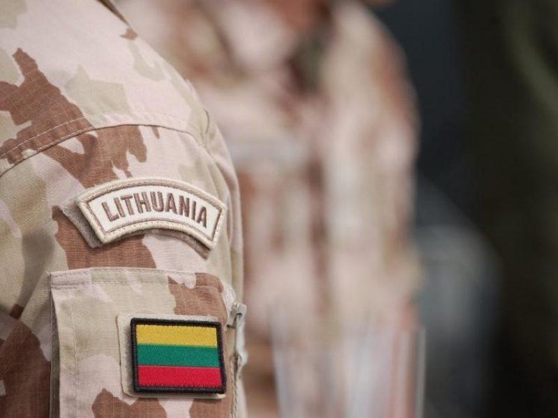 Kilus įtampai sustiprintas Irake tarnaujančių Lietuvos karių saugumas