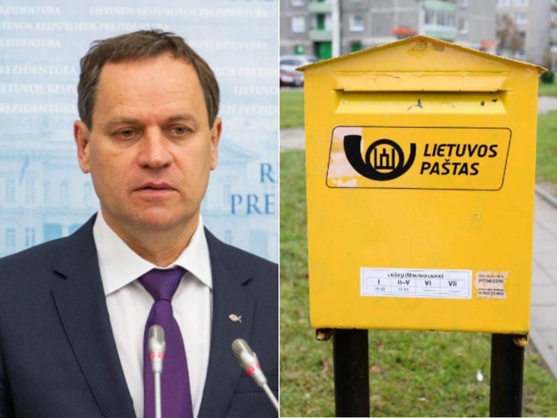 V. Tomaševskis apie Lietuvos pašto valdybą: darome naują sąžiningą politiką