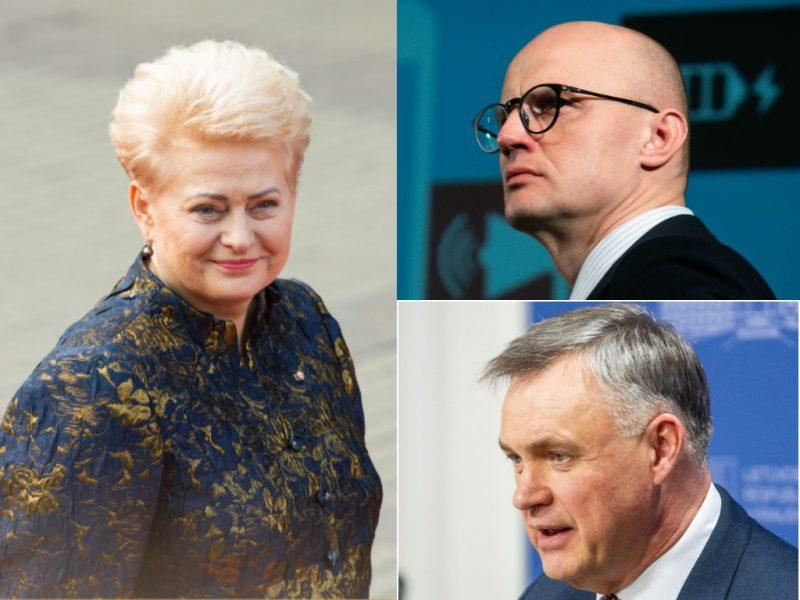 Apklausa: įtakingiausi asmenys – D. Grybauskaitė, E. Jakilaitis, R. Dargis
