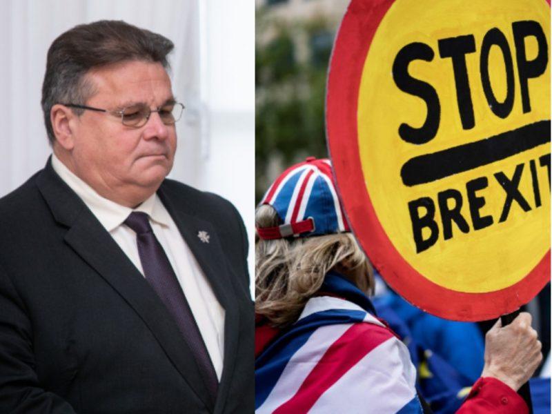 """Lietuva pozityviai žiūri į galimybę pratęsti """"Brexito"""" terminą"""