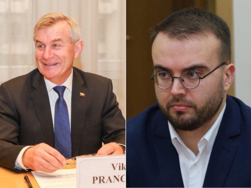 Prezidento patarėjas: yra daug būdų, kaip išspręsti V. Pranckiečio klausimą
