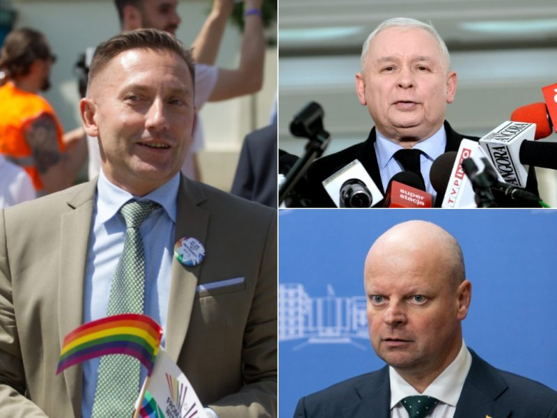 LGBT aktyvistai smerkia S. Skvernelio iniciatyvą apdovanoti J. Kaczynskį