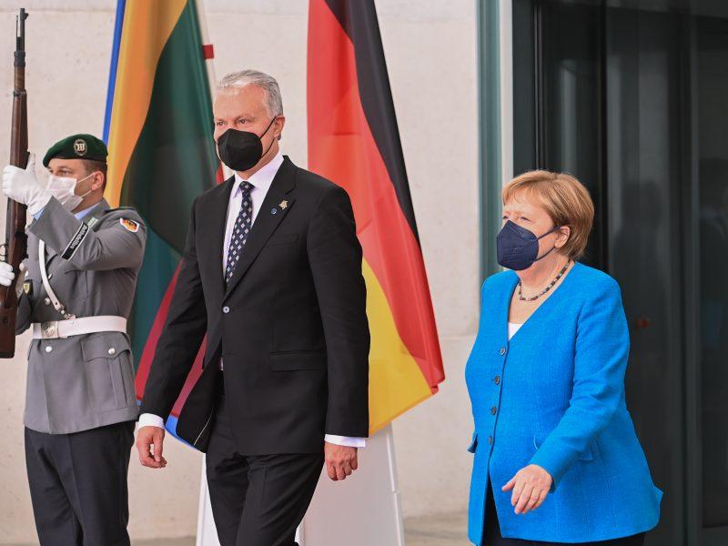 G. Nausėdos vizitas Vokietijoje