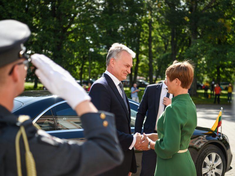 G. Nausėdos vizitas į Estiją