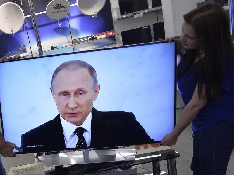 Rusiškos produkcijos Lietuvos televizijos programose ir toliau mažėja