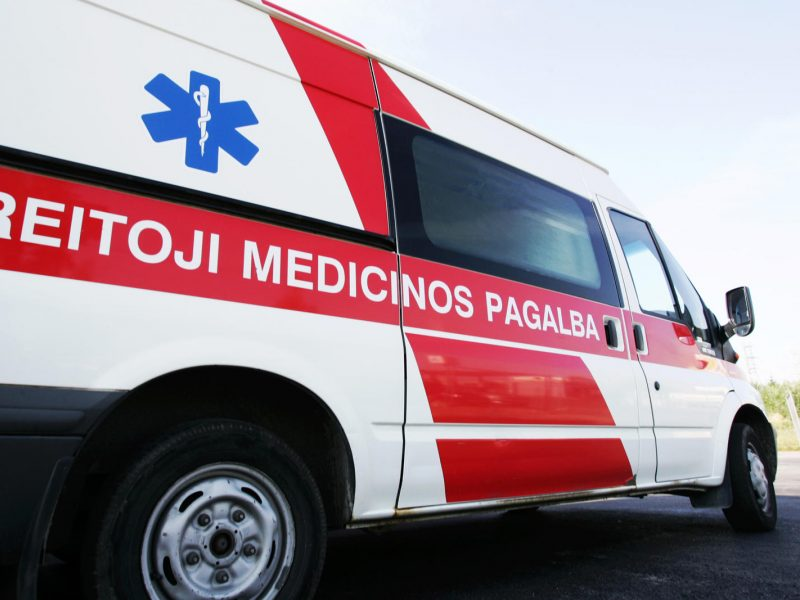 Avarijoje Radviliškio rajone sužalota nepilnametė