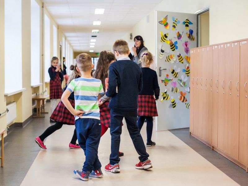 Į klases grįžo dar 8 tūkst. pradinukų, iš viso mokyklas lanko 71 tūkst.