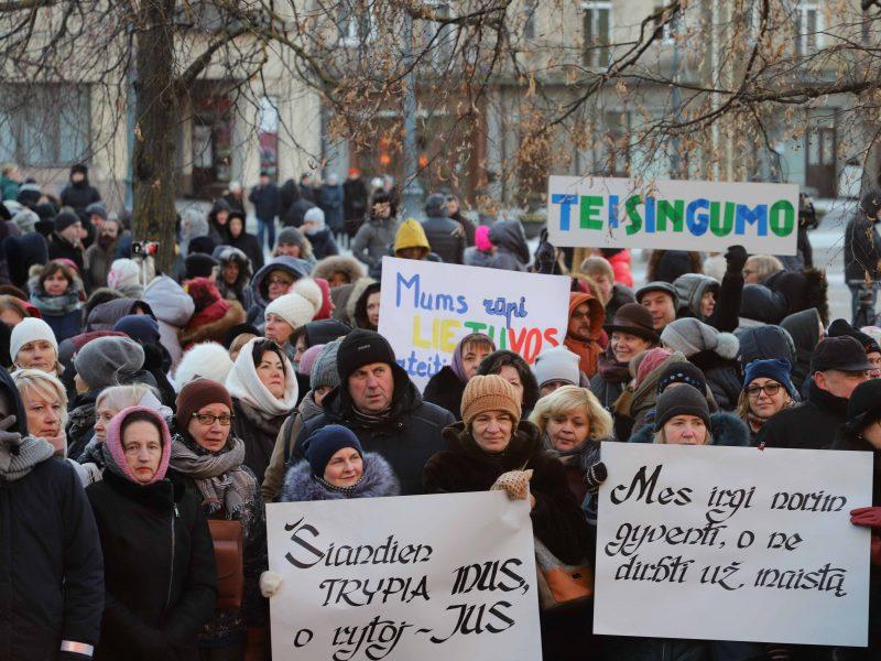 Mokytojų streiko nebus, jei valdžia tesės pažadus?