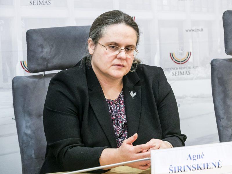 A. Širinskienės komisija nori daugiau laiko tyrimui