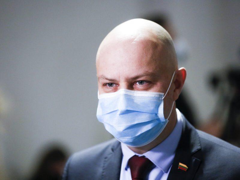 A. Veryga: dabartinė pandemijos valdymo strategija nesusijusi su valdžios pasikeitimu