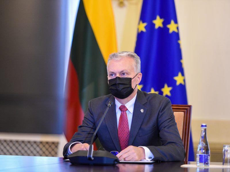 G. Nausėda kviečia ES taikyti sankcijas už A. Navalno sulaikymą