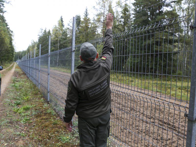 Vyriausybė spręs dėl tvoros Baltarusijos pasienyje statybos terminų