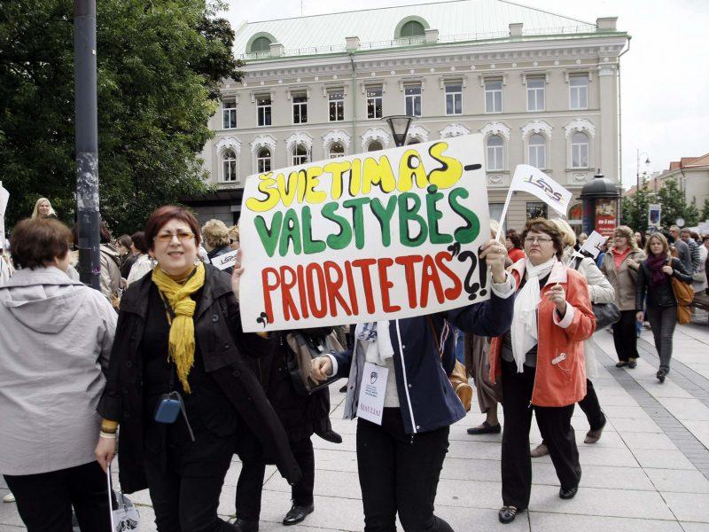 Patvirtino: jeigu valdžia neištaisys savo klaidų, mokytojų streikas bus