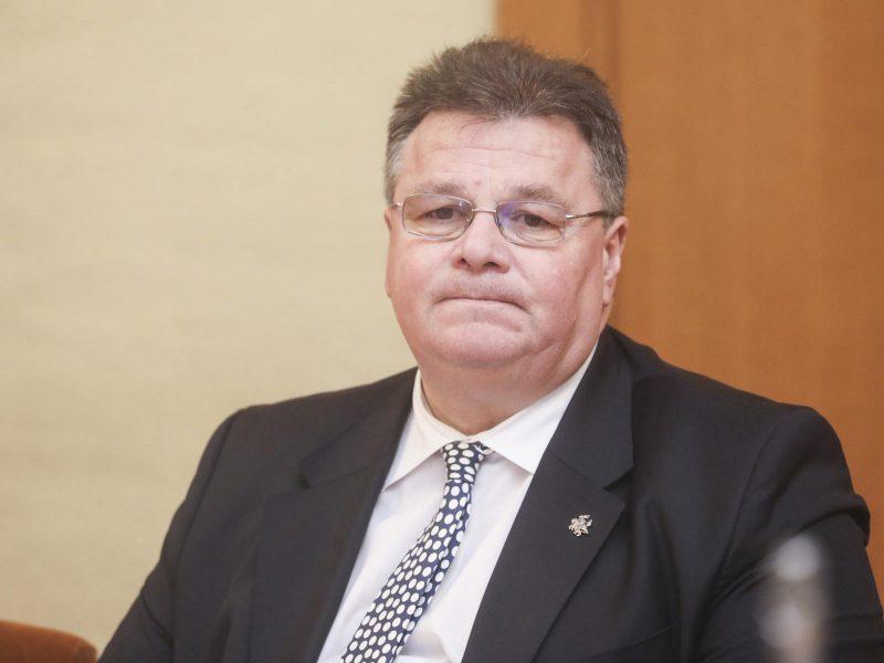 L. Linkevičius: reikalavimai tranzitui iš Karaliaučiaus sugriežtinti, bet jis išlieka