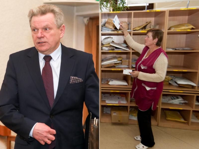 Lietuvos pašte darbo neteks 120 žmonių: įsikišo ministras