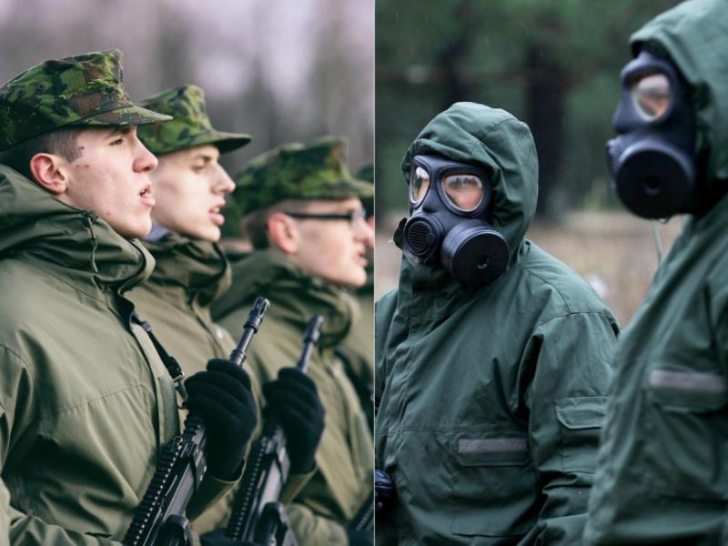 Lietuvos ir Latvijos kariuomenės perka dujokaukių už 3 mln. eurų