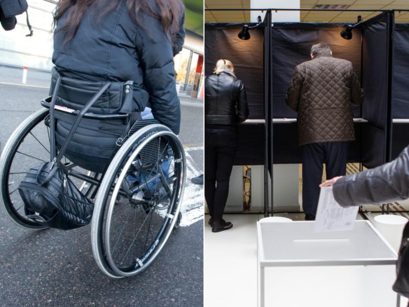 Neįgaliai kandidatei kelias į rinkimų debatus – neįveikiamas