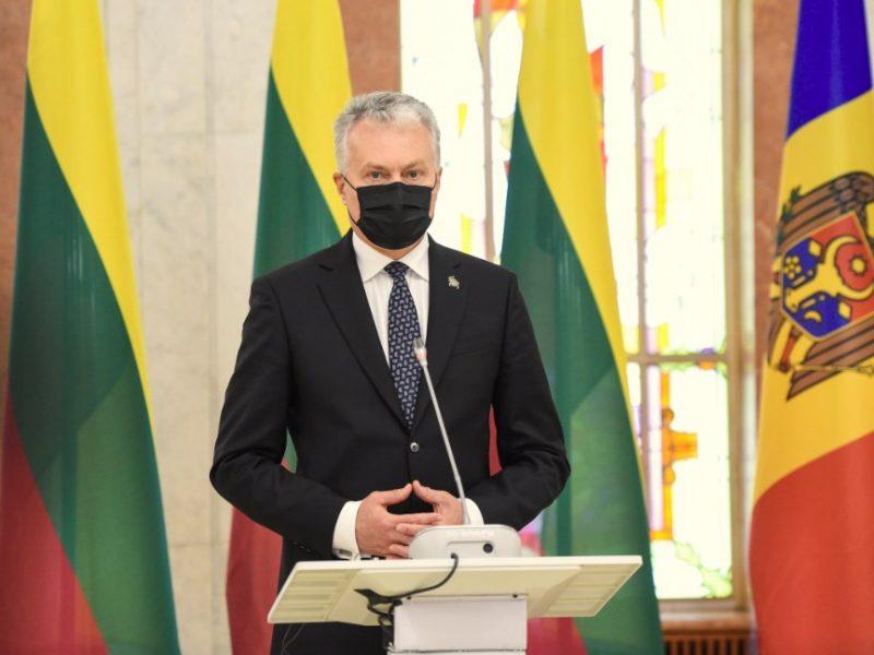 G. Nausėda: vakcinų skyrimas Rytų partnerėms rodo solidarumą