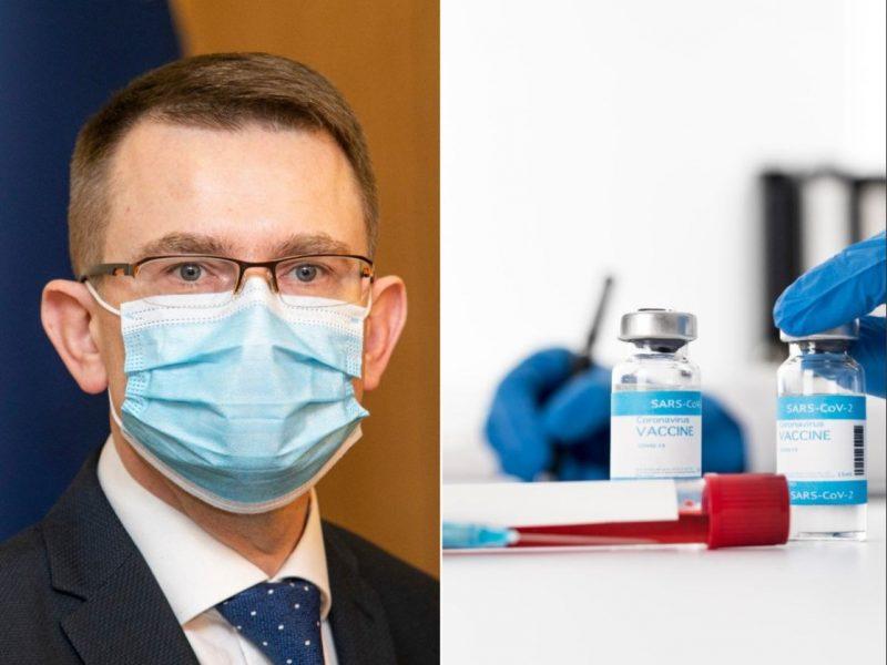 Sveikatos apsaugos ministras pateikė skiepijimo nuo COVID-19 prioritetus