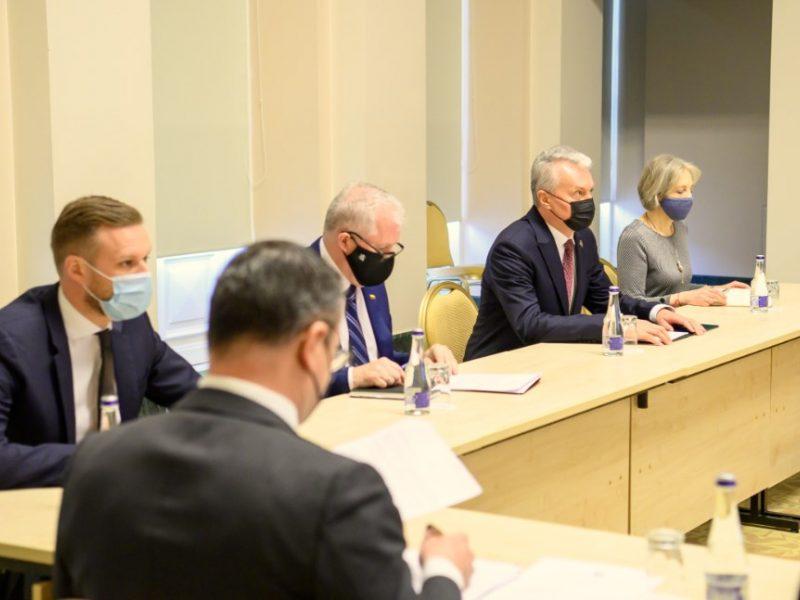 G. Nausėda: Lietuva remia pastangas deeskaluoti situaciją Ukrainos-Rusijos pasienyje