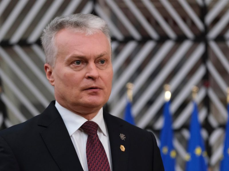 G. Nausėda: sankcijos yra priežastis, dėl kurios jaudinasi Rusijos režimas