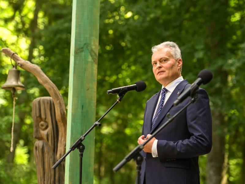 Prezidentūra informavo, iš kur dirba G. Nausėda: šiuo metu – pajūryje