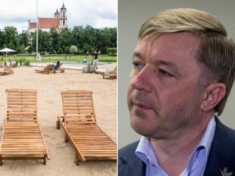 R. Karbauskis apie Lukiškių aikštę: tokių patyčių, kaip buvo vasarą, nebebus