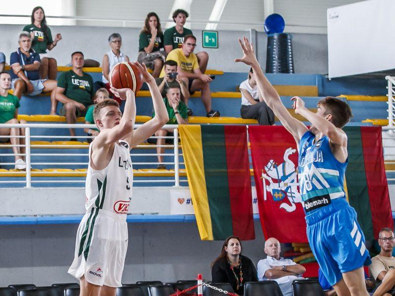 Lietuvos 16-mečiai krepšininkai Europos čempionate – devinti