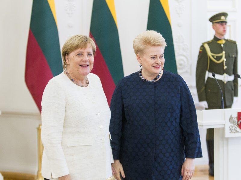 D. Grybauskaitė: ES būtina A. Merkel siūloma fiskalinė integracija