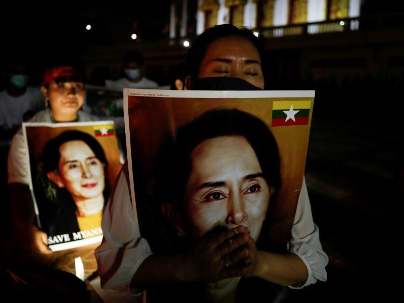 Nušalintai Mianmaro lyderei pareikštas dar vienas kaltinimas